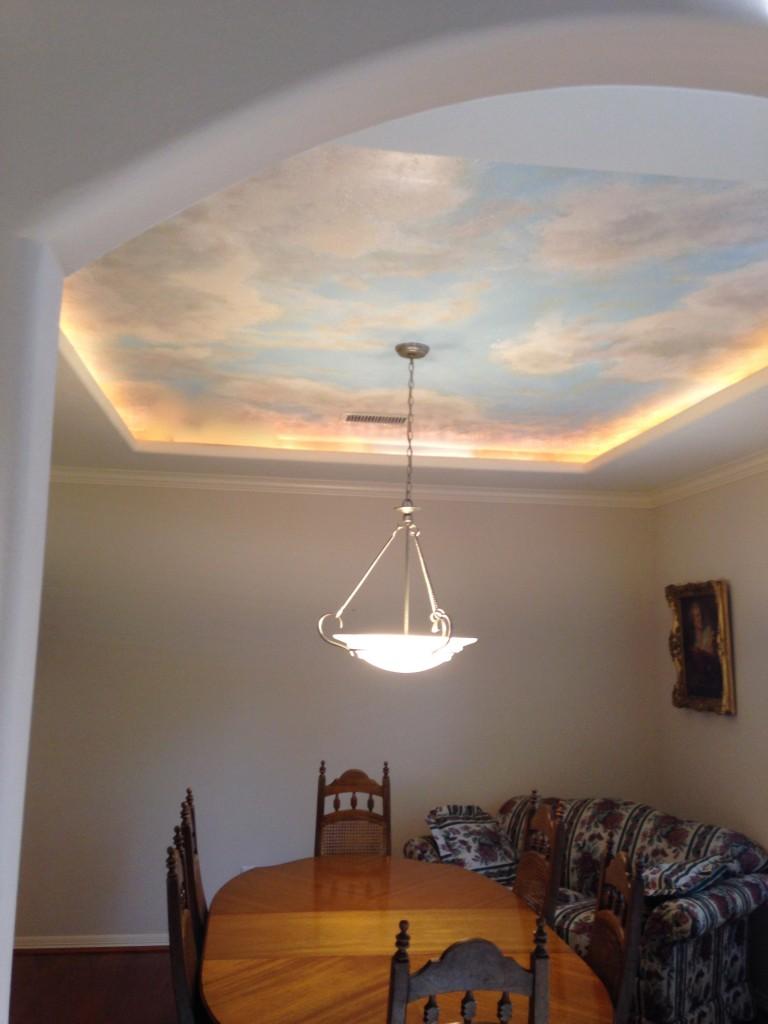 Ceiling Murals Malezieux Art