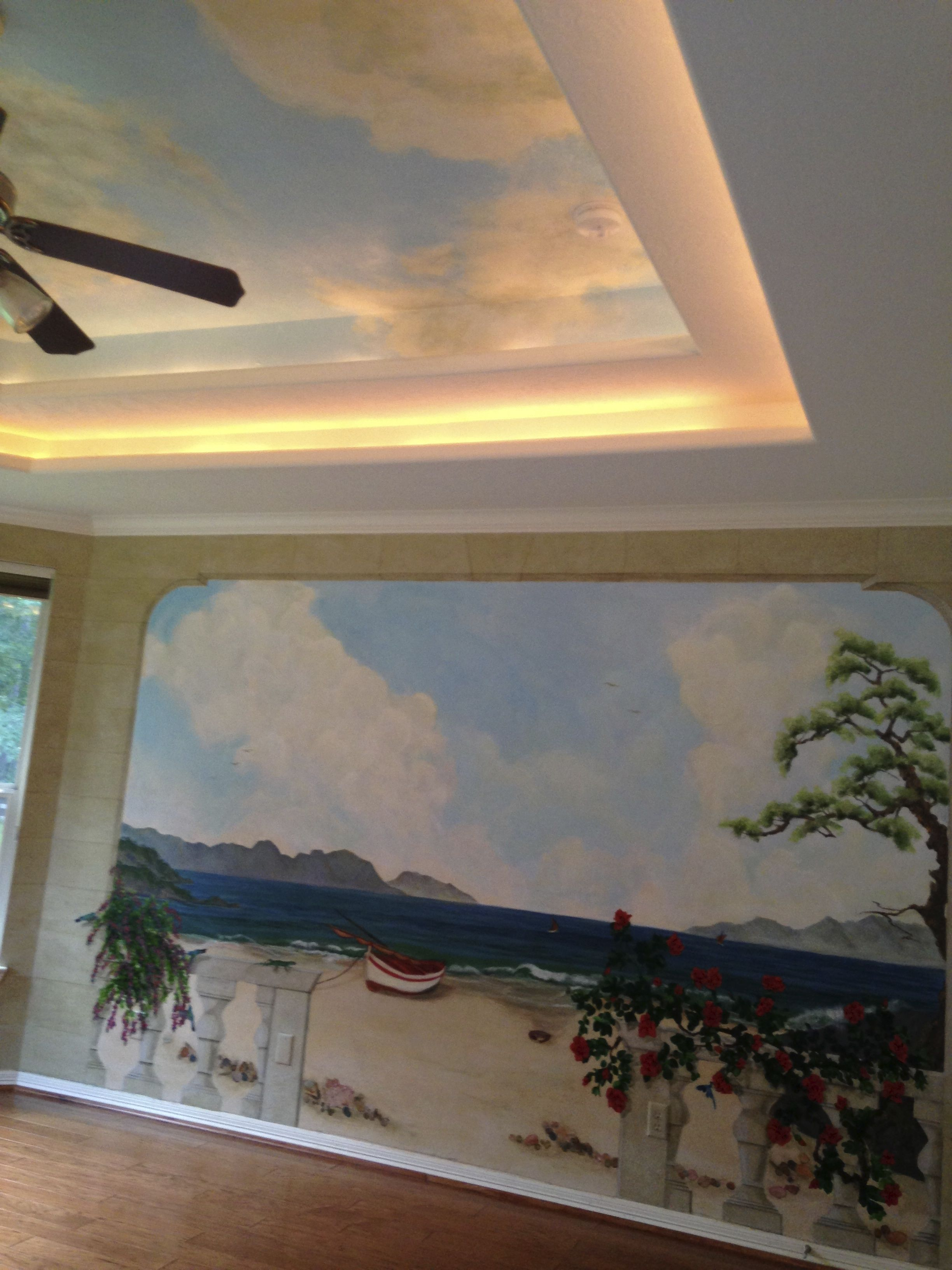 ceilings with mural art - photo #38
