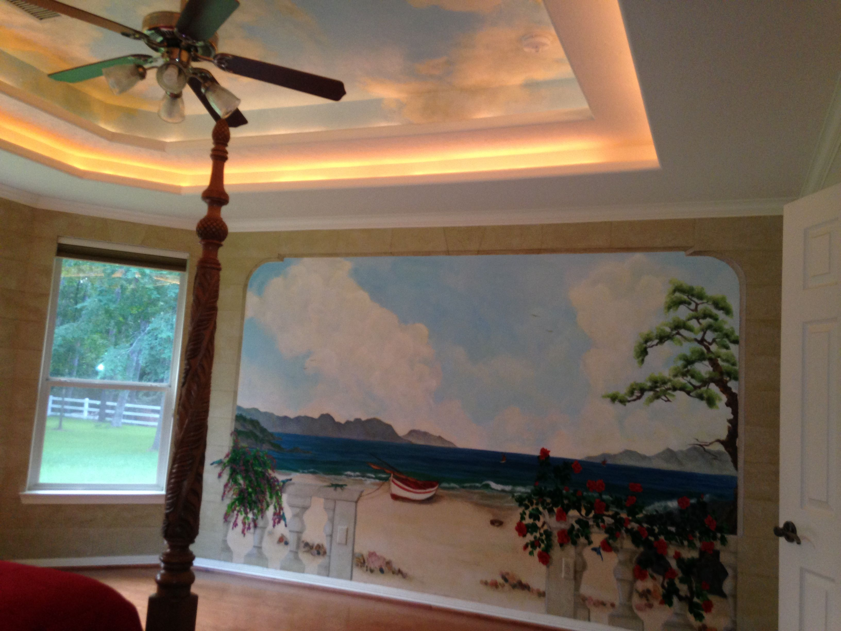 ceilings with mural art - photo #35